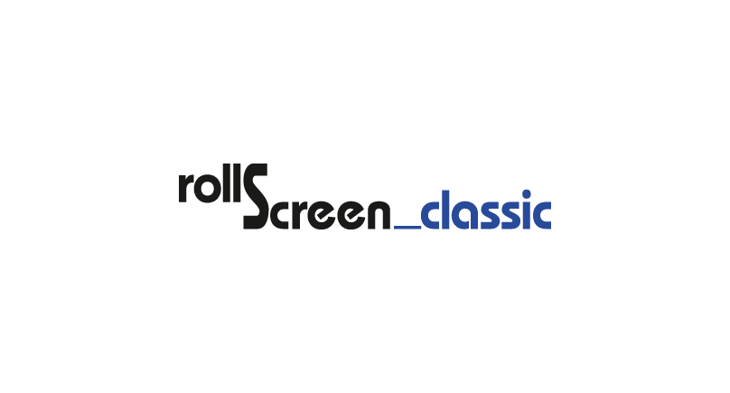 roll screen_classic logo